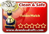 5 star award for spyware free File Synchronization