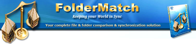 Reliable File ~ Folder ~ Directory Comparison and Synchronization Management Software.
